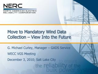 Move to Mandatory Wind Data Collection – View Into the Future