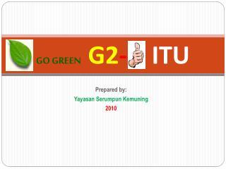 GO GREEN G2 - ITU