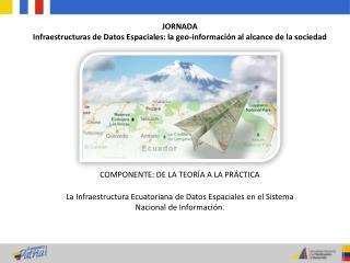 JORNADA Infraestructuras de Datos Espaciales: la geo-información al alcance de la sociedad