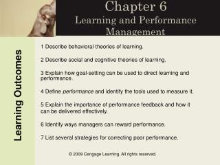 Chapter 6 Learning and Performance Management