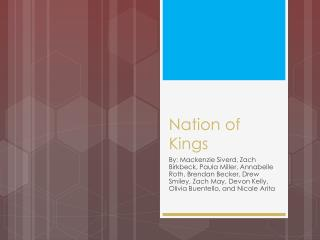 Nation of Kings