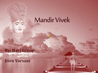Mandir Vivek