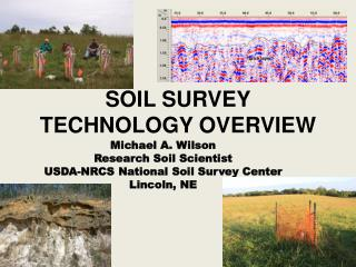 SOIL SURVEY TECHNOLOGY OVERVIEW
