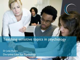 Teaching sensitive topics in psychology