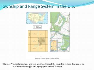Township and Range System in the U.S.