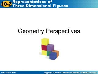 Geometry Perspectives