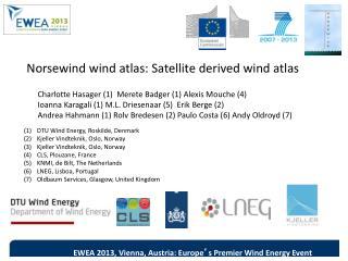 Norsewind  wind atlas: Satellite derived wind atlas