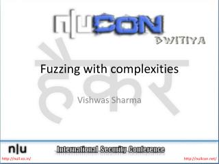 Fuzzing with complexities