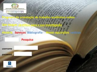 Ci�ncias Humanas, Letras e Artes Licenciatura em Pedagogia