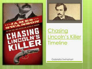 Chasing Lincoln's Killer  Timeline