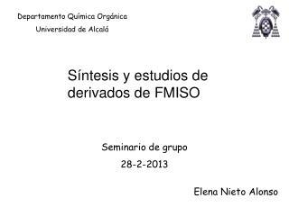Seminario de grupo  28-2-2013