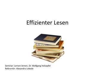 Effizienter Lesen