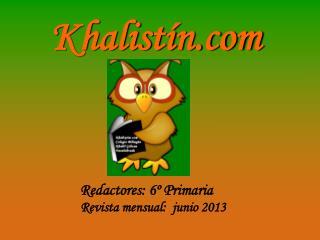 Khalistín.com