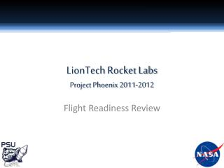 LionTech  Rocket Labs Project  Phoenix 2011-2012