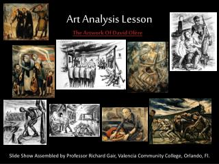 Art Analysis Lesson