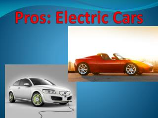 Pros: Electric Cars