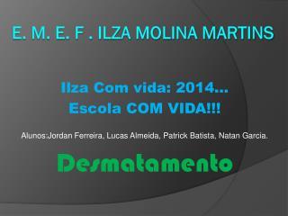E. M. E. F . Ilza Molina Martins