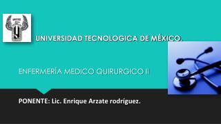 UNIVERSIDAD TECNOLOGICA DE M�XICO.