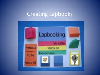 Creating  Lapbooks