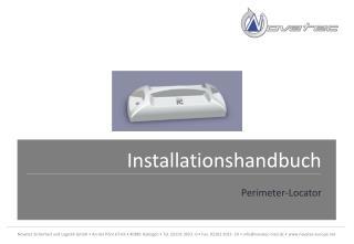 Installationshandbuch Perimeter-Locator