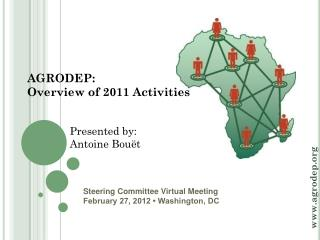 Steering Committee Virtual Meeting February 27, 2012 � Washington, DC