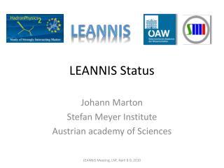 LEANNIS Status