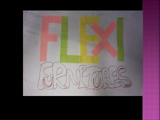 Overview of 'flexi furnitures'