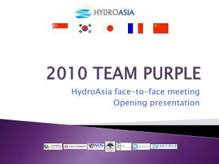 2010 TEAM PURPLE
