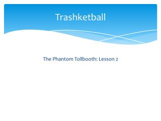 Trashketball