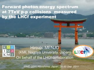 Forward photon energy spectrum  at  7TeV p-p  collisions measured  by  the  LHCf experiment