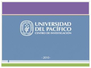 Centro de investigación de la universidad del pacífico