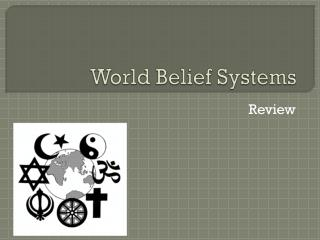 World Belief Systems