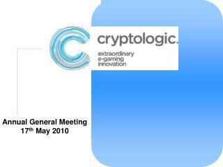 AGM Presentation May 17