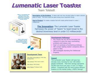 Lumenatic Laser Toaster