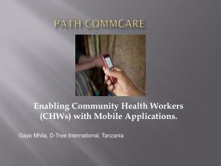 PATH-CommCare