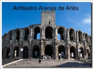Anfiteatro Arenas de Arlés