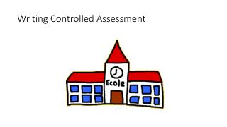 Writing Controlled Assessment