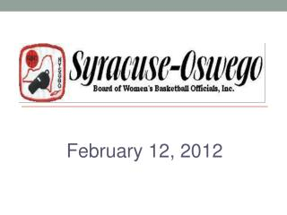 February 12, 2012