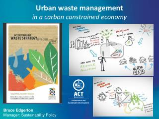 Urban waste management  in a carbon constrained economy
