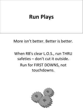 Run  Plays