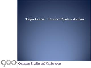 Teijin Limited - Product Pipeline Analysis