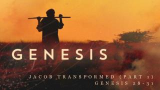 Jacob Transformed (part 1) Genesis 28-31