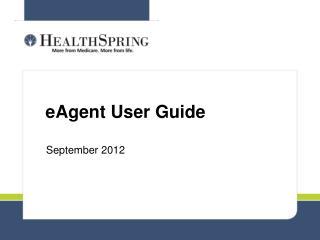 eAgent User Guide