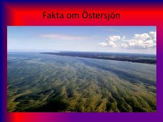 Fakta om Östersjön