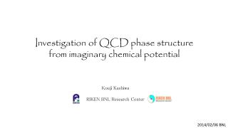 Investigation of QCD phase structure from imaginary chemical potential