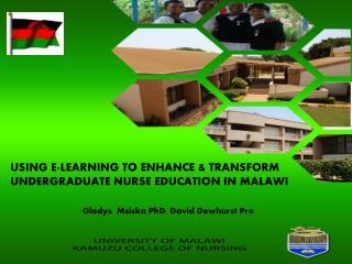 USING E-LEARNING  TO ENHANCE & TRANSFORM UNDERGRADUATE NURSE EDUCATION IN MALAWI