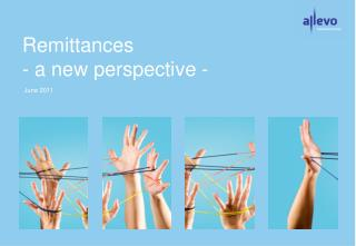 Remittances - a new perspective -