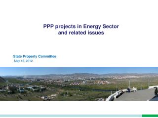 PPP projects in Energy Sector and related issues
