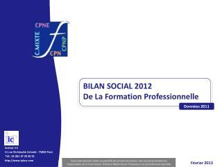 Institut I+C 11 rue Christophe Colomb  -  75008 Paris   Tél.: 33 (0)1 47 20 30 33
