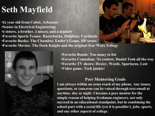 Seth Mayfield